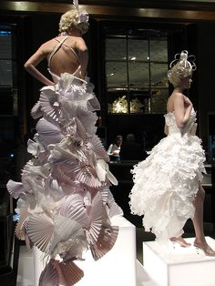 funky paper couture...