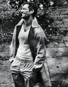 Fresh off a new Dolce & Gabbana campaign, model David Gandy is in the spotlight once more. He graces the cover of Elle Man Russia for the magazine's April David Gandy Style, David James Gandy, Male Model Names, Male Models, English Gentleman, The Fashionisto, Photo Retouching, British Style, Perfect Man