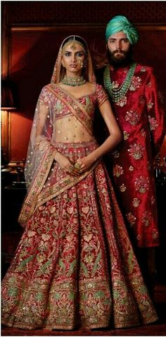 Check out Sabyasachi Bridal Lehenga designs collection that are perfect wedding lehenga for the bride to be. Look gorgeous in these elegantly crafted Sabyasachi Bridal lehengas. Indian Bridal Wear, Indian Wedding Outfits, Bridal Outfits, Indian Outfits, Bridal Dresses, Blue Bridal, Eid Outfits, Eid Dresses, Pakistani Bridal