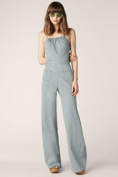 Jean Genie Denim Jumpsuit