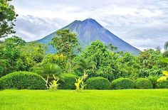 Dormant since 2010 #Arenal Volcano is a destination that inspires adventure and its volcanic-fed hot springs are the ultimate solution to sore muscles at the end of the day! : @wanderingcorner_goesto! #CostaRicaExperts #CostaRica