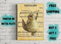 Louis Music Art Metal Print-Disney Princess and the Frog Free Prints, Disney Art, Disney Princess, Unique Jewelry, Handmade Gifts, Metal, Music, Poster, Stuff To Buy
