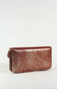 cow leather women wallet