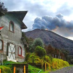 Turrialba Volcano, Costa Rica / Pinned by #vacation planning experts www.4tulemar.com