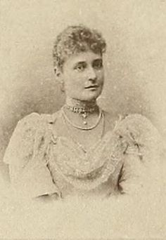 "A ""rare"" image of Tsarina Alexandra Fyodorovna. Nilssen Collection. 1897"