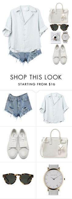 """""""N°167"""" by yellowgrapes ❤ liked on Polyvore featuring Acne Studios, Yves Saint Laurent and Illesteva"""