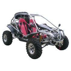 Awesome dune buggy, except for the pink seats.. ha