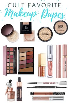 Drugstore Dupe Series Cult Favorites products best products drugstore products must have products natural products that really work Drugstore Makeup Dupes, Beauty Dupes, Makeup Cosmetics, Beauty Hacks, Best Target Makeup, Make Up Dupes, Makeup Must Haves, Cheap Makeup, High End Makeup