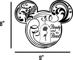 BEAUTY-AND-THE-BEAST-CAR-DECAL-VINYL-GRAPHIC