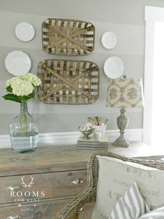 rooms for rent Tobacco Baskets wall decor & a Giveaway! http://roomsforrentblog.com/2015/05/tobacco-baskets-wall-decor-a-giveaway/ via bHome https://bhome.us