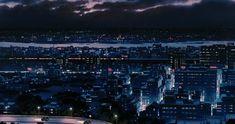 Ghibli-collector: 耳をすませば Whisper of the Heart - Art Director Satoshi Kuroda - Neon Aesthetic, Aesthetic Anime, Aesthetic Backgrounds, Aesthetic Wallpapers, Studio Ghibli Background, Anime City, Wattpad, Miyazaki, Anime Scenery