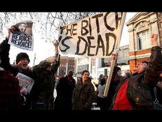 Margaret Thatchers death celebrated in Brixton