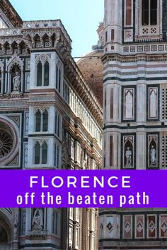 Florence off the Beaten Path, Italy | Visit Florence, Italy - Everything you need to know about the city, including what to see, where to eat, how to get there and how to make the most of your visit. Click through to find out all about this Tuscan gem!