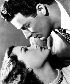 Great on screen couples - Cornel Wilde  and Gene Tierney in Leave Her to Heaven, 1945
