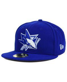 New Era San Jose Sharks C-Dub 59FIFTY Cap Men - Sports Fan Shop By Lids -  Macy s 592c60c159e