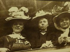 Wearing your best hat (and only - probably) - arriving at Ellis Island.