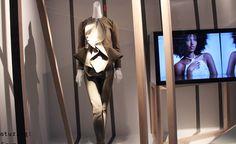 Givenchy canvas peplum jacket and matching pants
