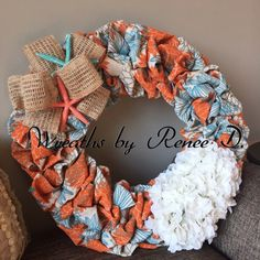 A personal favorite from my Etsy shop https://www.etsy.com/listing/269251118/burlap-wreath-spring-wreath-handmade