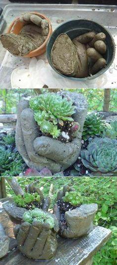 Делаем садовые фигурки своими руками: три самых простых варианта