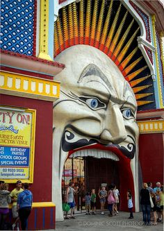 Luna Park Melbourne | Flickr - Photo Sharing! Dominic Scott Photography