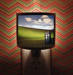 Dr Who Night Light  4 designs to Choose from by TakeItWith, $18.00