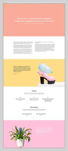 Putput website - Web Design - Clean, Colorful, Minimal, Typographic, Photo's, Images