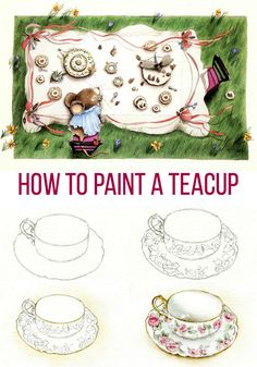 Technique Tea Party: Draw and Paint a Lovely Teacup