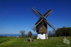 Tejn Mølle, Melsted #Tejn #Melsted #Bockwindmühle #Mølle #Mühle #Windmühle #Mill #Windmill #Bornholm #Dänemark