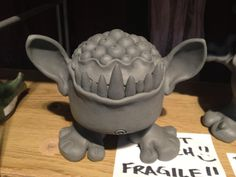 from claymonster. Hmm making characters from 2-d favorite kid books into 3-d sculptures?!? I like