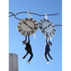 Harold Lloyd ,  earrings Harold Lloyd, Laurel And Hardy, Silent Film, Gifts For Her, Comedy, My Etsy Shop, Just For You, Clock, Brass