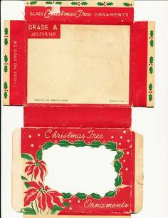 See original image Miniature Christmas, Christmas Minis, Retro Christmas, Christmas Images, Christmas Art, Christmas Tree Ornaments, Christmas Decorations, Christmas Paper Crafts, Christmas Projects