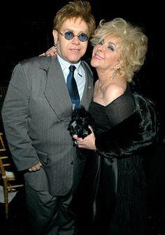 Image detail for -Elton John Honors Elizabeth Taylor