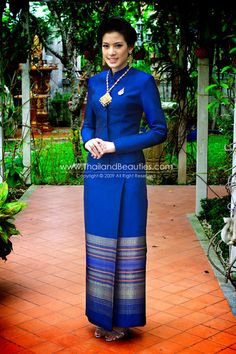Thai silk dress but love the color