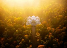 Hermitage Pavilion, Russia - Spectacular Drone Photos Catch Famous Places The Way They Were Designed To Be Seen