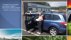 Dear Kathleen Haddon   A heartfelt thank you for the purchase of your new Subaru from all of us at Premier Subaru.   We're proud to have you as part of the Subaru Family.