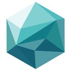Polygonal-Hexagon icon | Myiconfinder