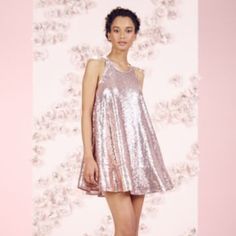 LC Lauren Conrad Runway Collection Sequin Swing Dress - Women's