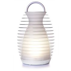 Bump Rechargeable Lantern now featured on Fab. Yep, I will be the one so in style when the lights go out during a storm.  That's a reason to buy it, right?  lol