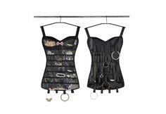 The little black corset jewellery storage gift