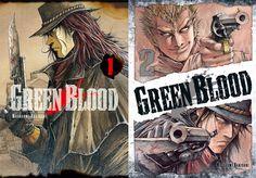 Extrait de Green Blood #manga