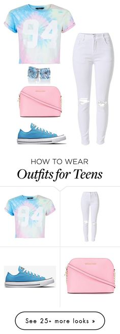 """Untitled #297"" by amariyahwebb on Polyvore featuring New Look and MICHAEL Michael Kors"