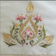 Mavicini - My WordPress Website Hand Work Embroidery, Embroidery Needles, Machine Embroidery Patterns, Crewel Embroidery, Beaded Embroidery, Embroidery Designs, Gold Work, Fabric Painting, Embroidered Flowers