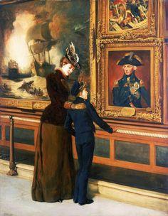 Thomas Davidson - England's Pride and Glory, 1894. Large HD