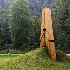 "2,570 Likes, 19 Comments - Discovery.places (@discovery.places) on Instagram: ""Giant clothespin  : Mehmet Ali Uysal #travel # travellers #norway #vacation #holiday #blogger…"""