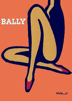 Vintage Bally Posters & Prints