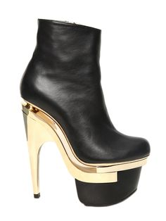 Futuristic Disco Boot VERSACE  160MM LEATHER BOOTS