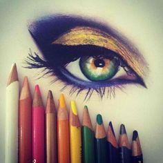 Color pencils, I love it