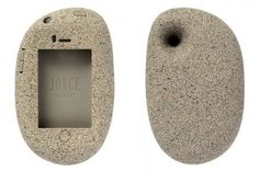 the rock I phone case haha people might think that it carrying around a rock