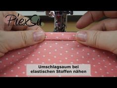Most up-to-date No Cost Sewing Instructions – Sew an Elastic Wrap Hem PiexSu Sewing Hacks, Sewing Tutorials, Free Sewing, Hand Sewing, Youtube Sewing, Lavender Benefits, Ribbon Yarn, Couture, Textiles