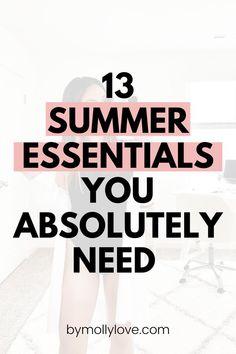 Amazing Life Hacks, Simple Life Hacks, Useful Life Hacks, Summer Is Here, Summer Essentials, Improve Yourself, Seasons, Love, Summer Outfits